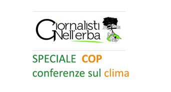 Tutti i servizi dalle Conferenze sul Clima