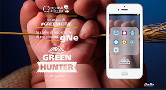 green hunter copertina home