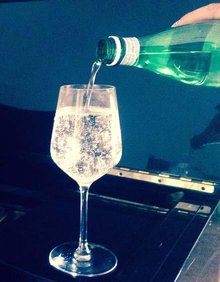 bicchier d'acqua elegante