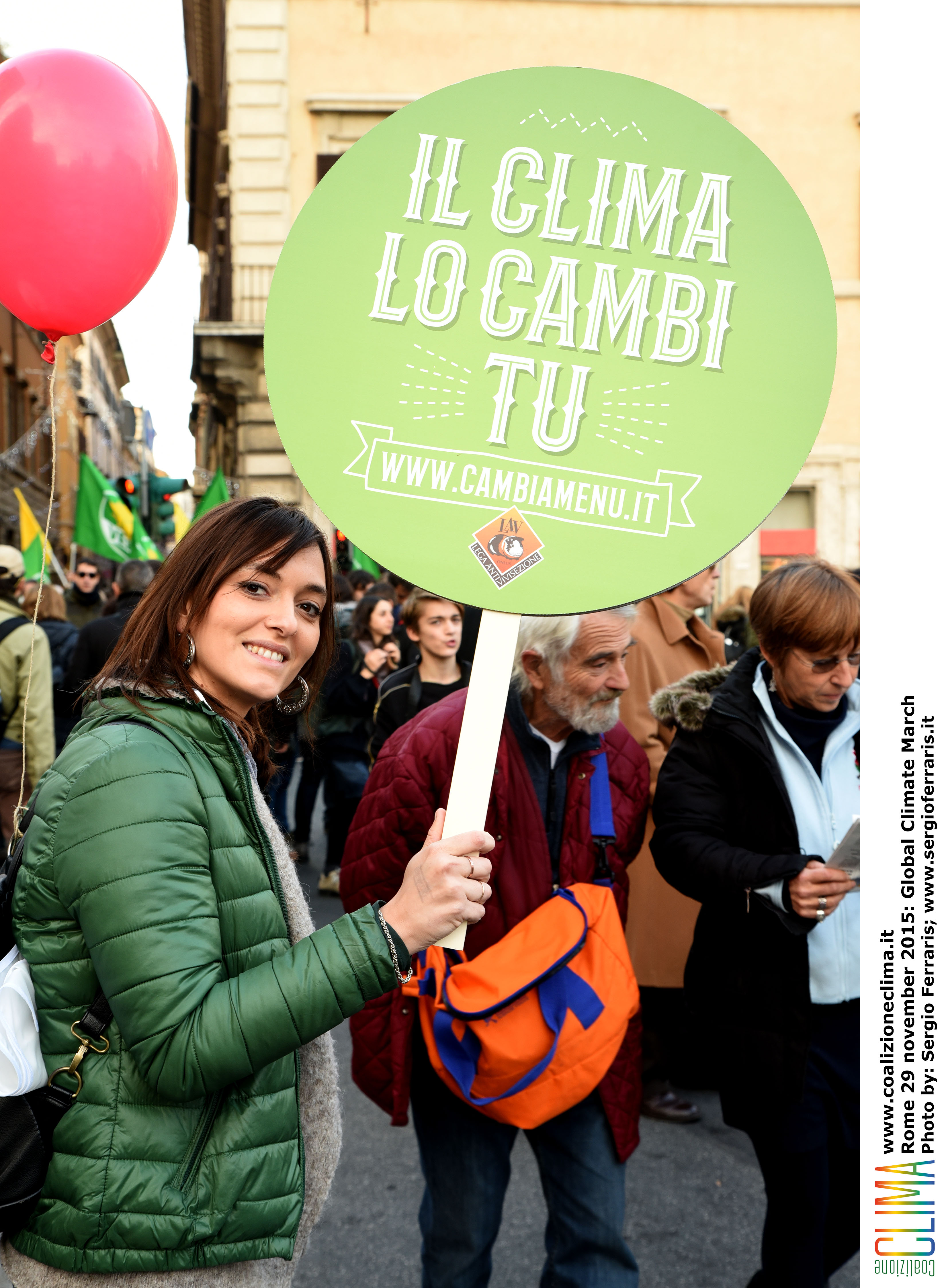 Climate march Rome 18