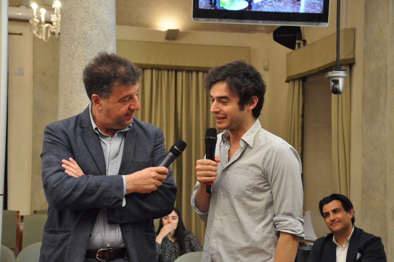 Antonio Pergolizzi_Gaetano Savatteri_Paolo Briguglia_Roma_Treccani_Conferenza stampa Trame6_7_6_2016__